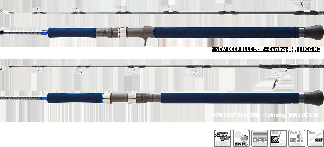 NEW DEEP BLUE for Jigging 1100