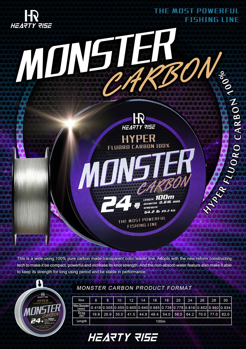HR MONSTER CARBON 1000-02
