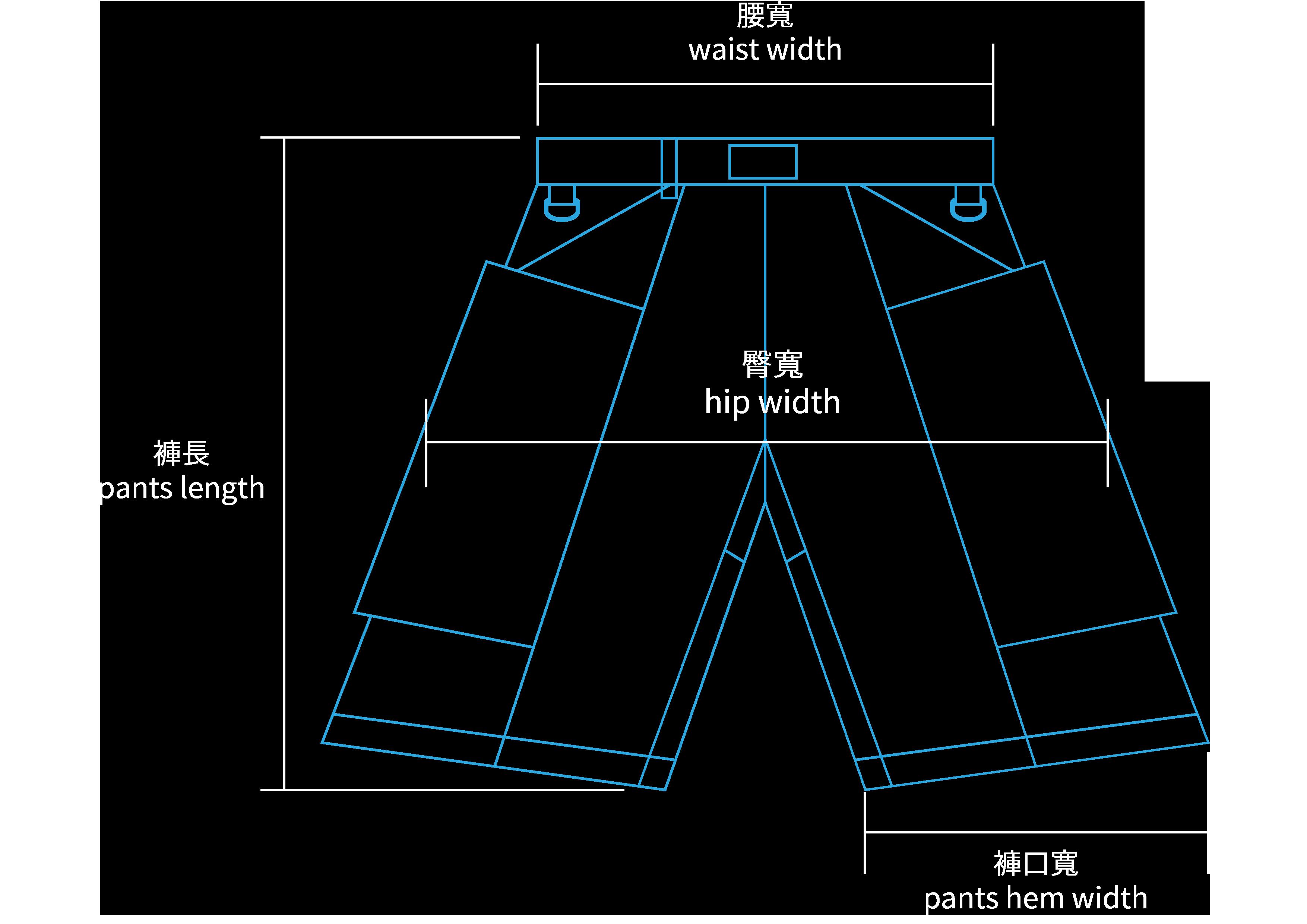 HR 釣魚短褲 HP-9003 1000