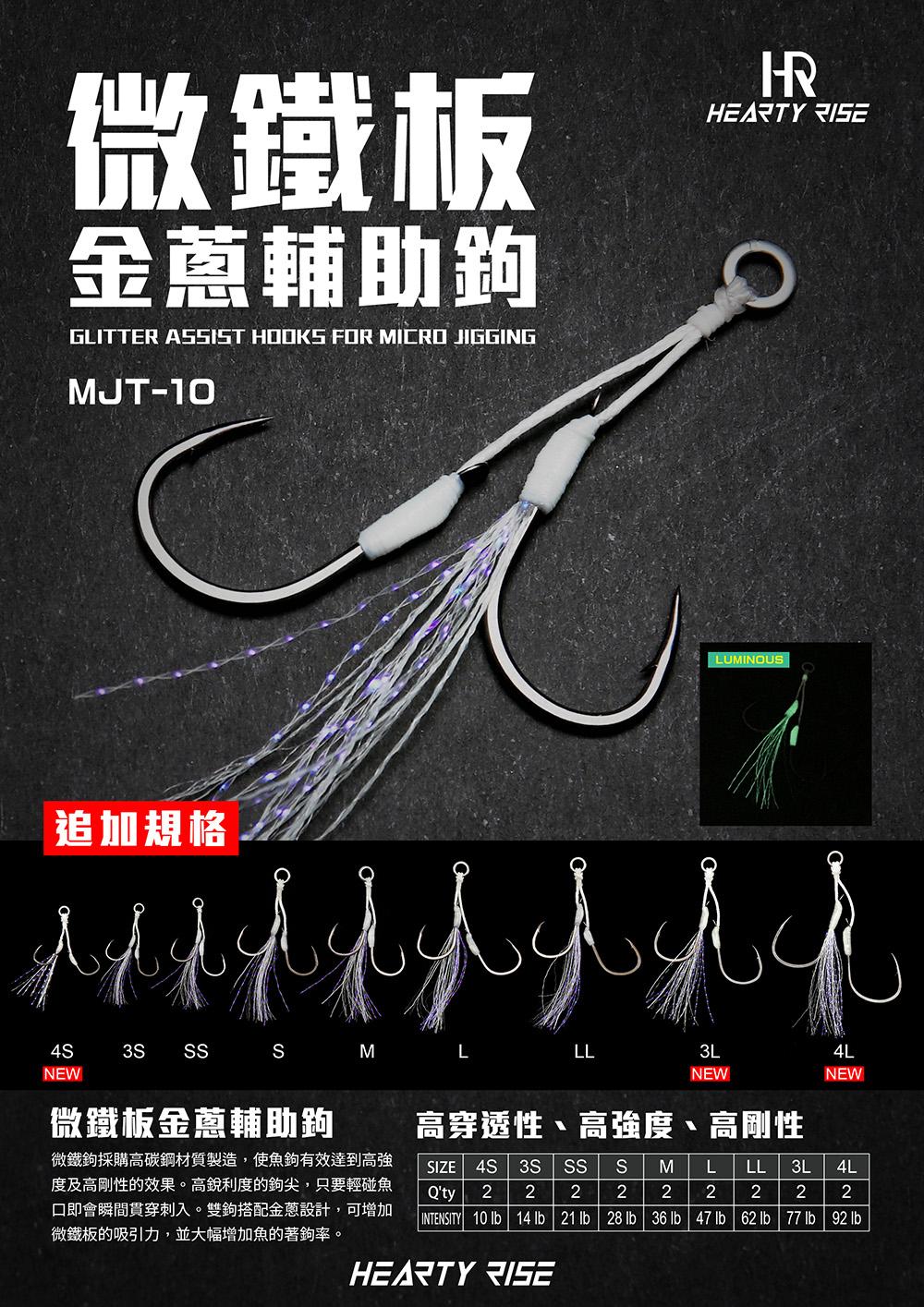 HR 微鐵板金蔥輔助鉤 MJT-10 1000 20200802