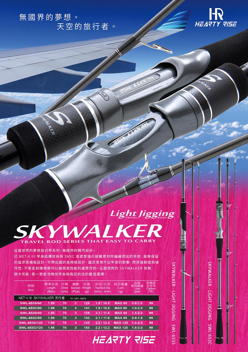 HR Skywalker LIGHT JIGGING 653 1000